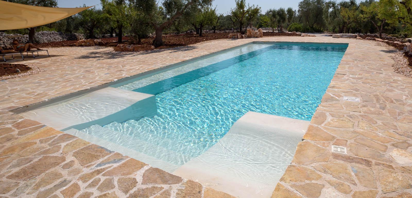 Costruzione piscine interrate rovigo for Acqua per piscine
