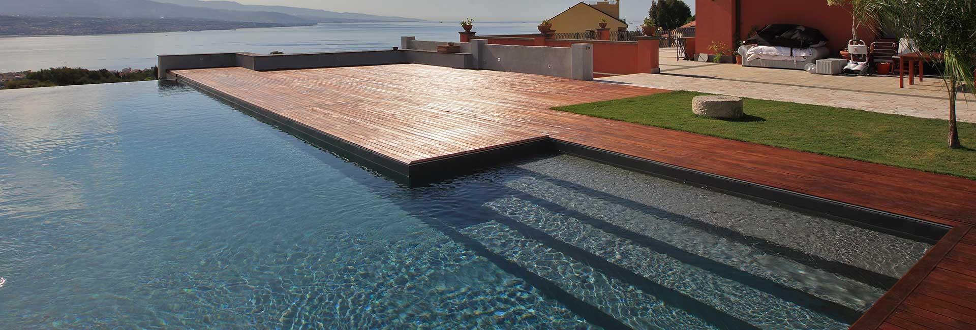 Piscine interrate costruzione e vendita bluwater impianti for Clorazione piscine